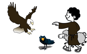Samaniego El águila y el cuervo